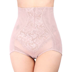 High Waist Butt Lifter Zip Shapewear MH1599