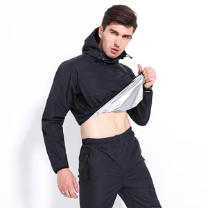 Sauna Suit Running Non Rip Sweat Track Sweat Suits MH1801