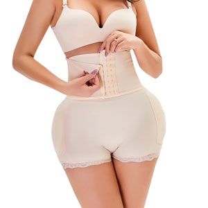 Wholesale Women Body Shaper Shorts With Logo MHW100034N