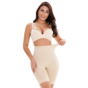 Postpartum Seamless Tummy Control Body Shaper Shorts Wholesale MHW100037N